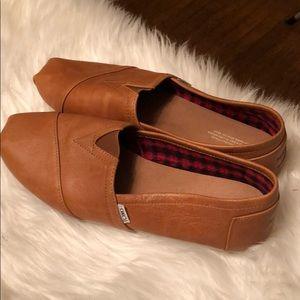 TOMS Alpargata Leather Slip-On Sneaker Men's 10